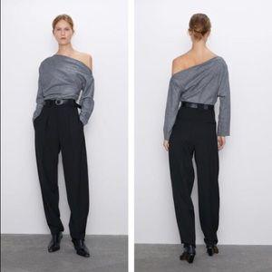 Zara Asymmetrical Top